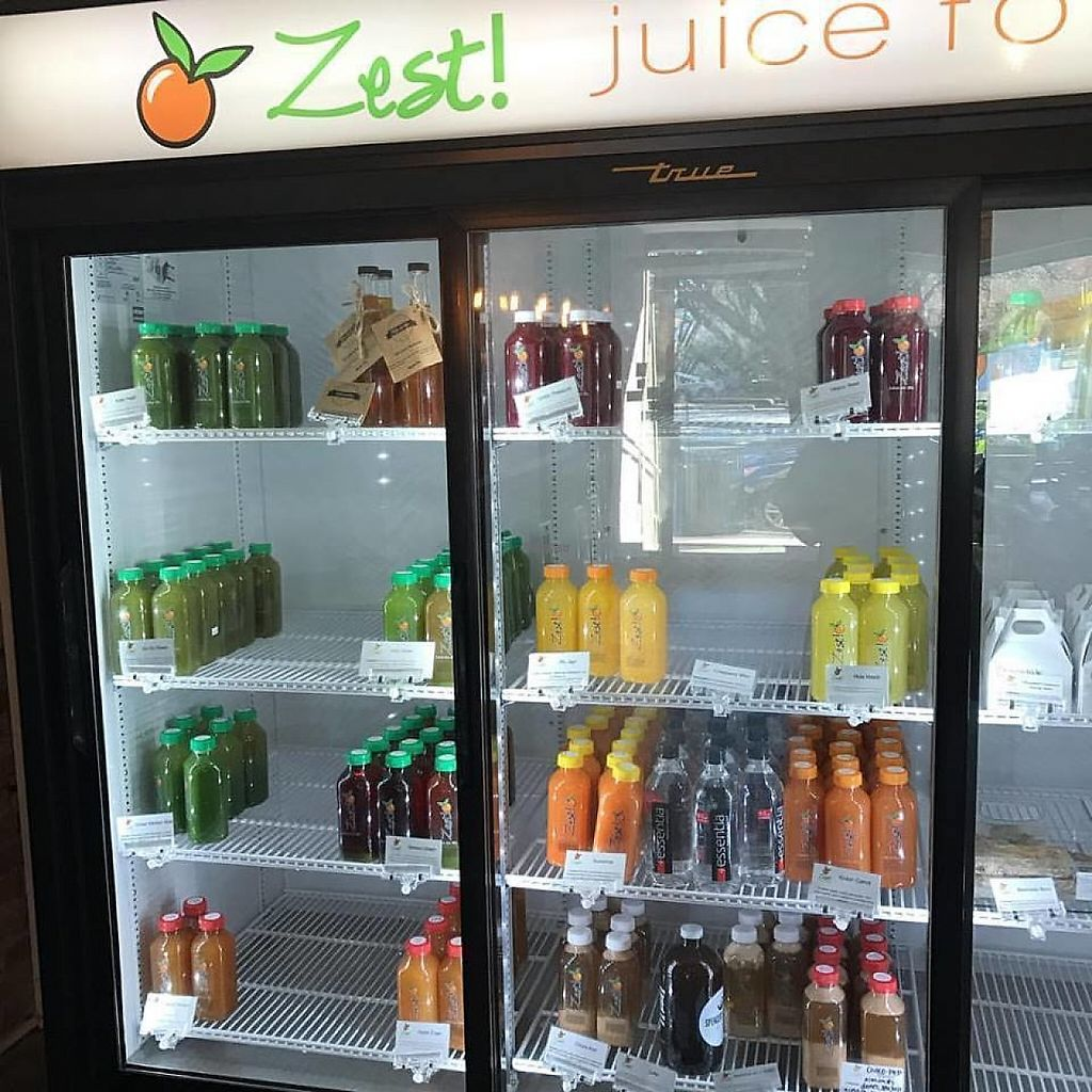 "Photo of Zest - Juice for Life  by <a href=""/members/profile/community"">community</a> <br/>fresh juices  <br/> January 27, 2017  - <a href='/contact/abuse/image/78725/217739'>Report</a>"