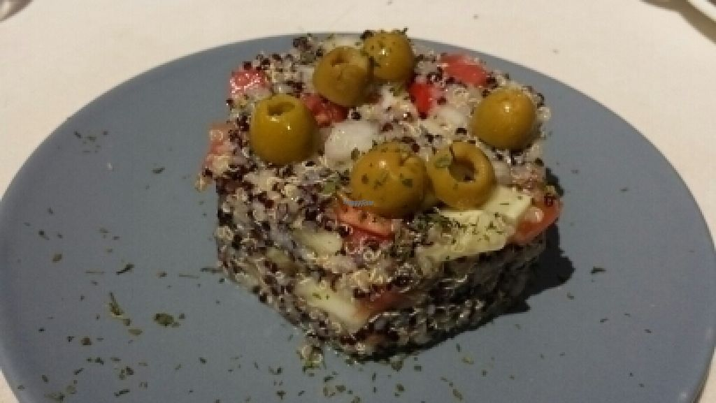 """Photo of Levante Slow Food  by <a href=""""/members/profile/Suu"""">Suu</a> <br/>tabulé of quinoa  <br/> August 17, 2016  - <a href='/contact/abuse/image/78751/169440'>Report</a>"""