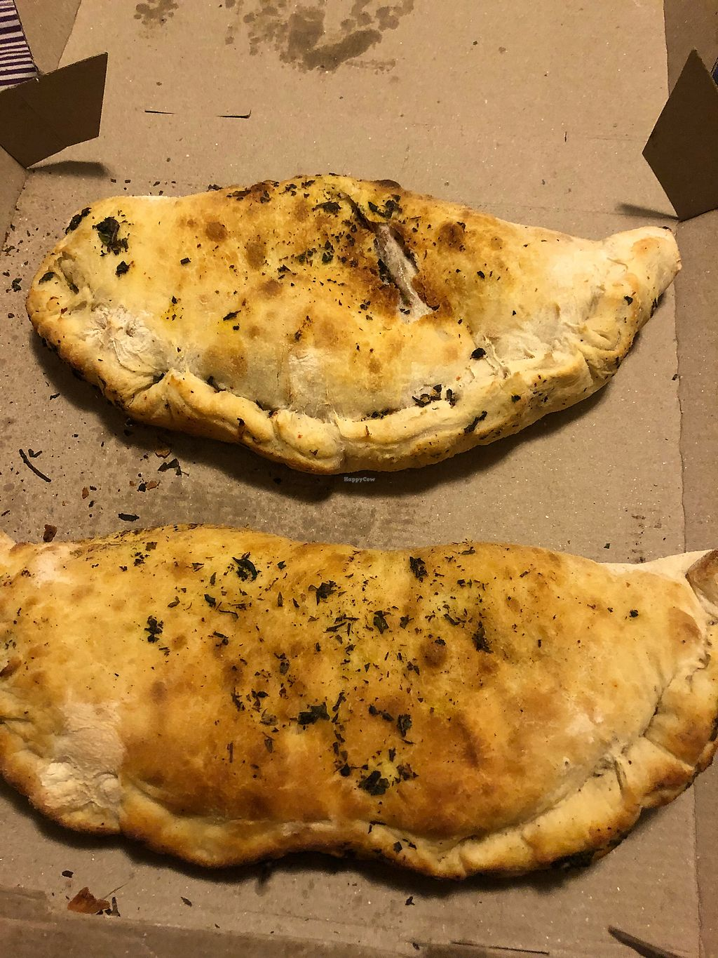 "Photo of Veggino's Pizza  by <a href=""/members/profile/LaylaLm"">LaylaLm</a> <br/>Calzone  <br/> March 4, 2018  - <a href='/contact/abuse/image/78756/366699'>Report</a>"