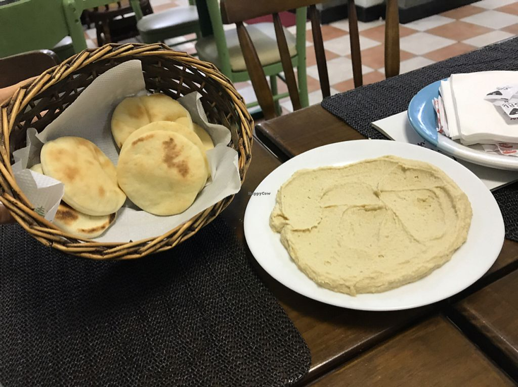 "Photo of Seu Chalita  by <a href=""/members/profile/Paolla"">Paolla</a> <br/>Hommus and pita bread <br/> May 5, 2017  - <a href='/contact/abuse/image/78761/255694'>Report</a>"