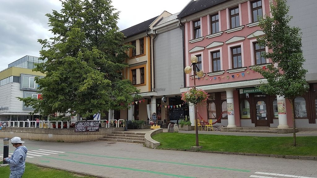 """Photo of Lahodnosti  by <a href=""""/members/profile/sophiefp"""">sophiefp</a> <br/>Exterior - in the centre of town on a nice pedestrian street <br/> December 6, 2016  - <a href='/contact/abuse/image/78764/197890'>Report</a>"""