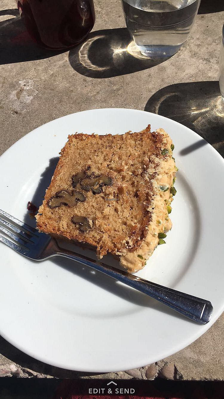 "Photo of Boston Tea Party  by <a href=""/members/profile/RachelJenkins"">RachelJenkins</a> <br/>Coffee walnut vegan cake <br/> January 29, 2018  - <a href='/contact/abuse/image/78765/352387'>Report</a>"