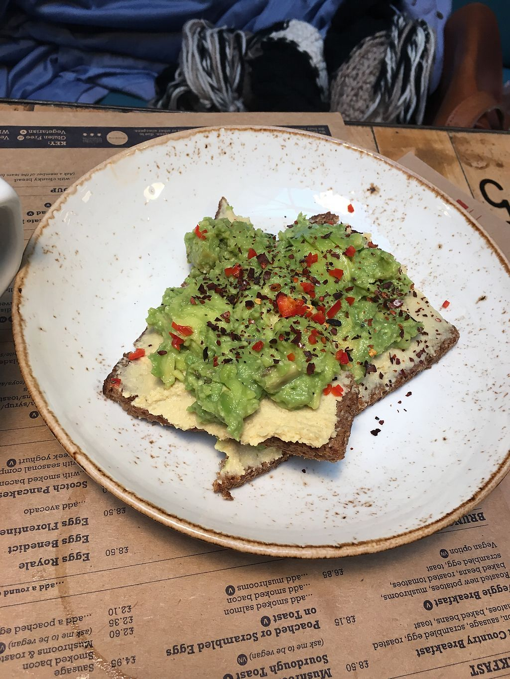 "Photo of Boston Tea Party  by <a href=""/members/profile/RachelJenkins"">RachelJenkins</a> <br/>Avocado and hummus toast <br/> January 29, 2018  - <a href='/contact/abuse/image/78765/352393'>Report</a>"