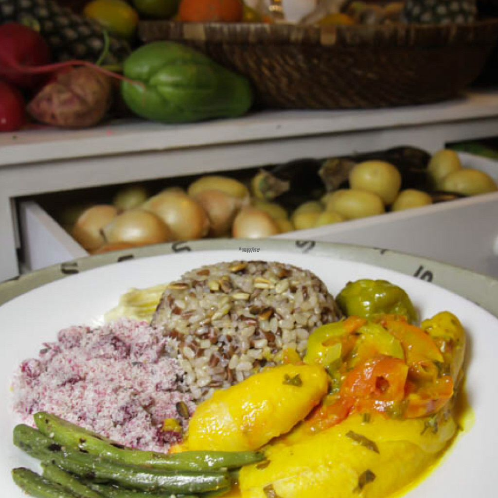 """Photo of Cultura VEG - Tunel do Tempo  by <a href=""""/members/profile/renatamorita"""">renatamorita</a> <br/>Typical brazilian meals adapted to be vegan <br/> August 19, 2016  - <a href='/contact/abuse/image/78771/169969'>Report</a>"""