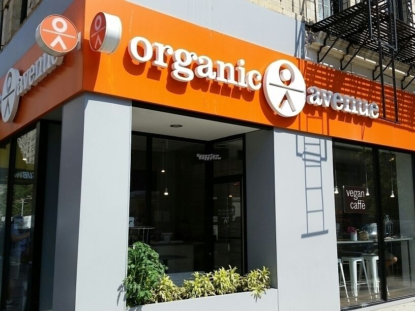 """Photo of CLOSED: Organic Avenue - Chelsea  by <a href=""""/members/profile/eric"""">eric</a> <br/>outside <br/> September 8, 2016  - <a href='/contact/abuse/image/78775/174358'>Report</a>"""