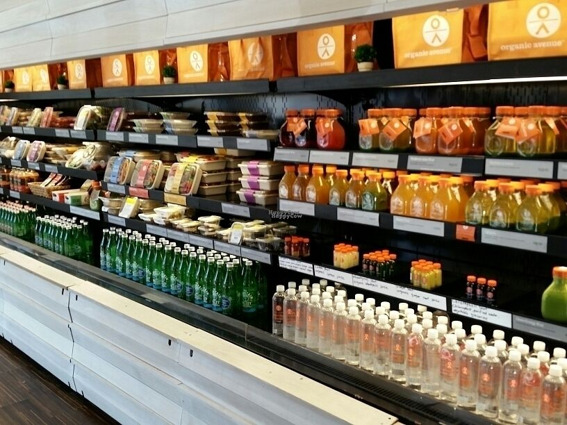 """Photo of CLOSED: Organic Avenue - Chelsea  by <a href=""""/members/profile/eric"""">eric</a> <br/>to go items <br/> September 8, 2016  - <a href='/contact/abuse/image/78775/174360'>Report</a>"""