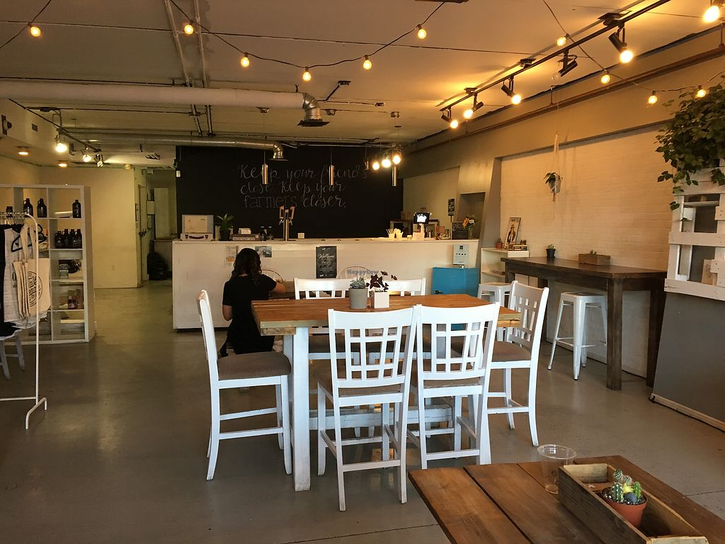"""Photo of Raw Eatery & Market  by <a href=""""/members/profile/dlachica"""">dlachica</a> <br/>interior, looking at order counter <br/> September 3, 2017  - <a href='/contact/abuse/image/78776/300545'>Report</a>"""