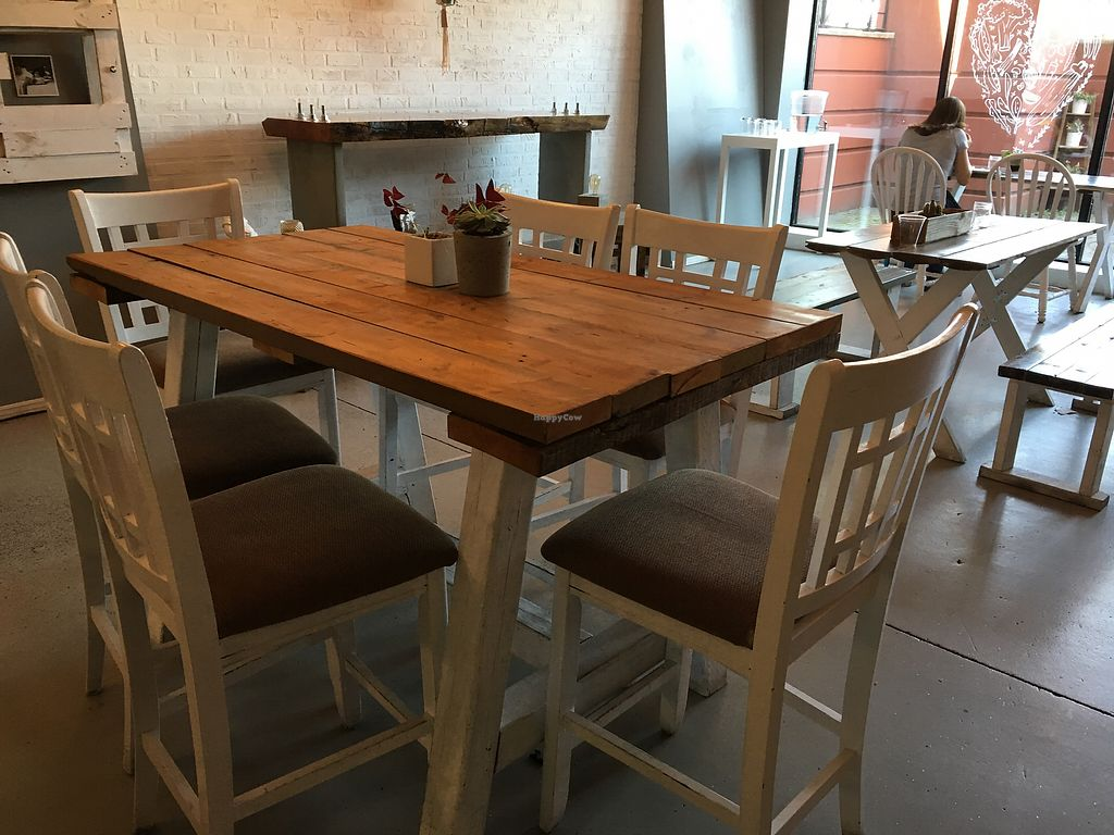 """Photo of Raw Eatery & Market  by <a href=""""/members/profile/dlachica"""">dlachica</a> <br/>interior, looking out to front exterior  <br/> September 3, 2017  - <a href='/contact/abuse/image/78776/300547'>Report</a>"""