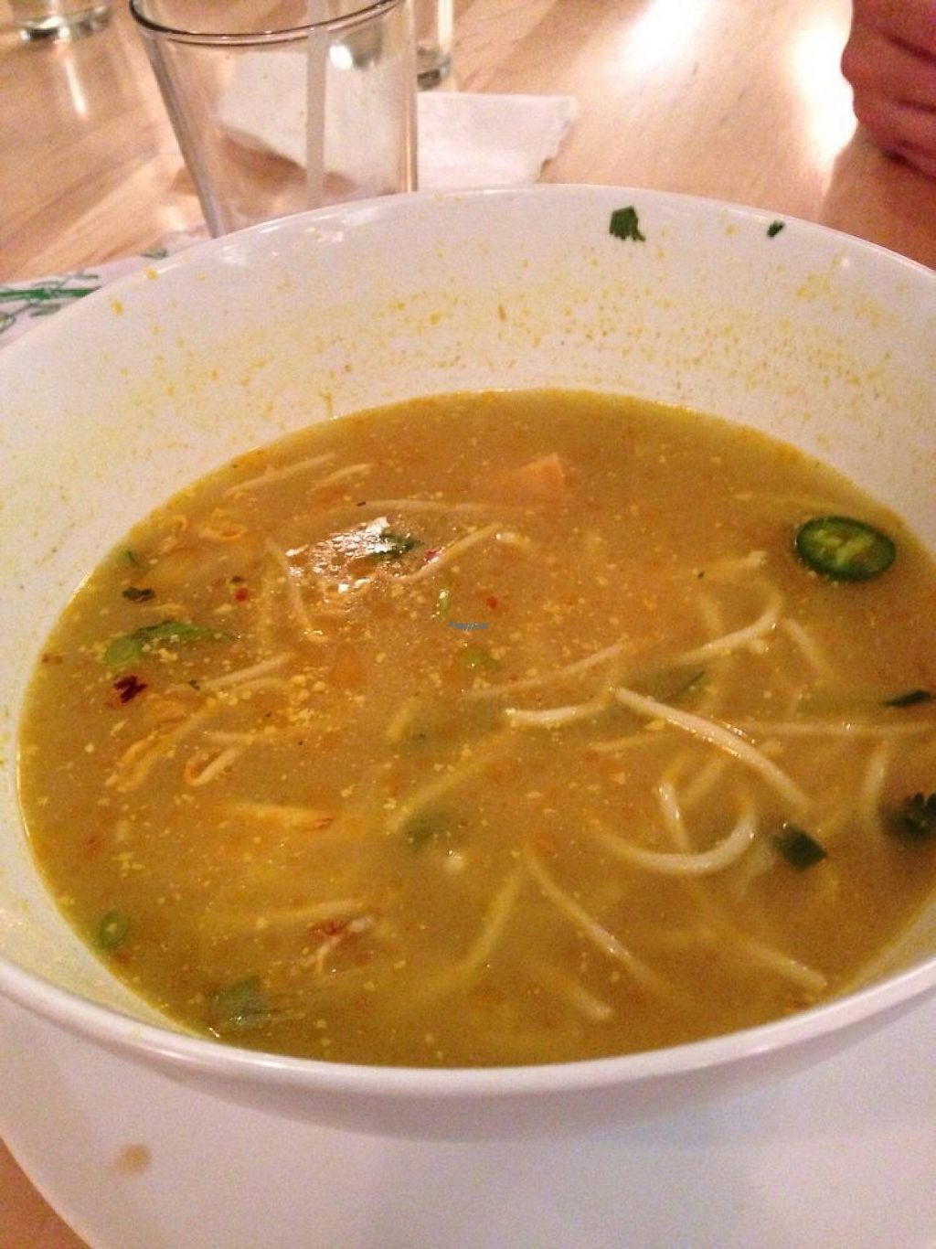 """Photo of Saigon Noodle House - 3rd Ave  by <a href=""""/members/profile/skat"""">skat</a> <br/>Coconut Curry Soup with Veggie Broth and Tofu <br/> November 22, 2016  - <a href='/contact/abuse/image/78778/193284'>Report</a>"""