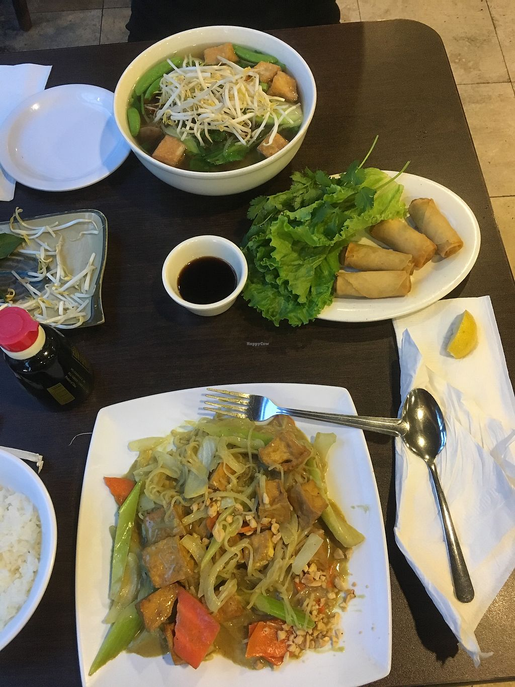 "Photo of Simply Pho  by <a href=""/members/profile/ChristineLee"">ChristineLee</a> <br/>vegan curry tofu and pho <br/> August 8, 2017  - <a href='/contact/abuse/image/78787/290275'>Report</a>"