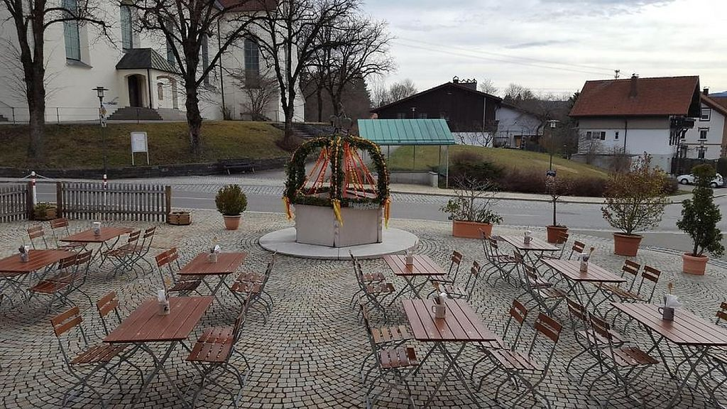 """Photo of Gasthaus Hasen  by <a href=""""/members/profile/community"""">community</a> <br/>Beer garden at Gasthaus Hasen <br/> March 5, 2017  - <a href='/contact/abuse/image/78800/232715'>Report</a>"""