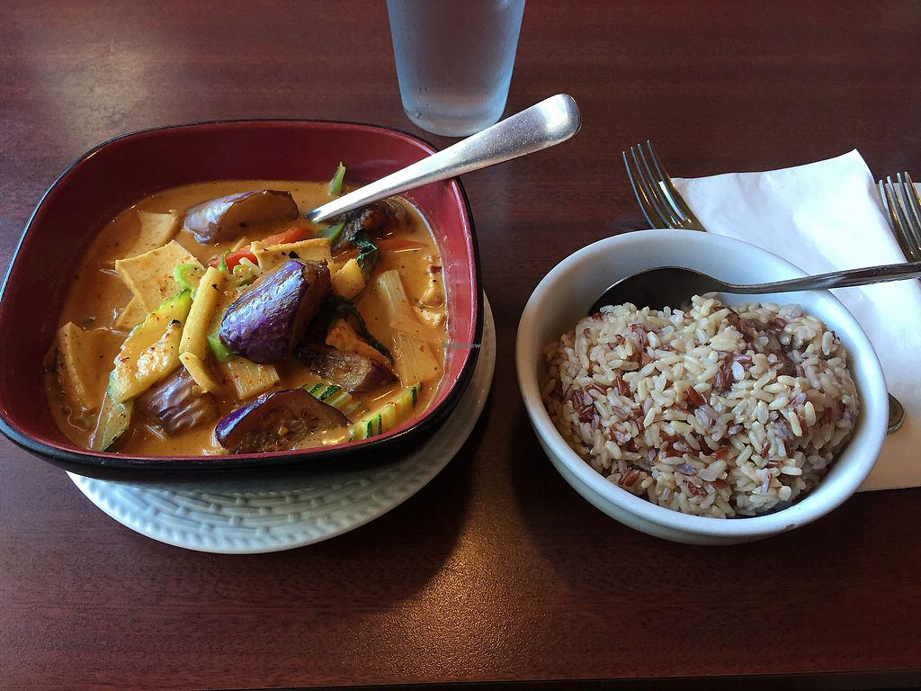 "Photo of Best Thai Cuisine  by <a href=""/members/profile/LinnDaugherty"">LinnDaugherty</a> <br/>red curry #80 tofu medium spice with brown rice <br/> July 9, 2017  - <a href='/contact/abuse/image/78840/278476'>Report</a>"