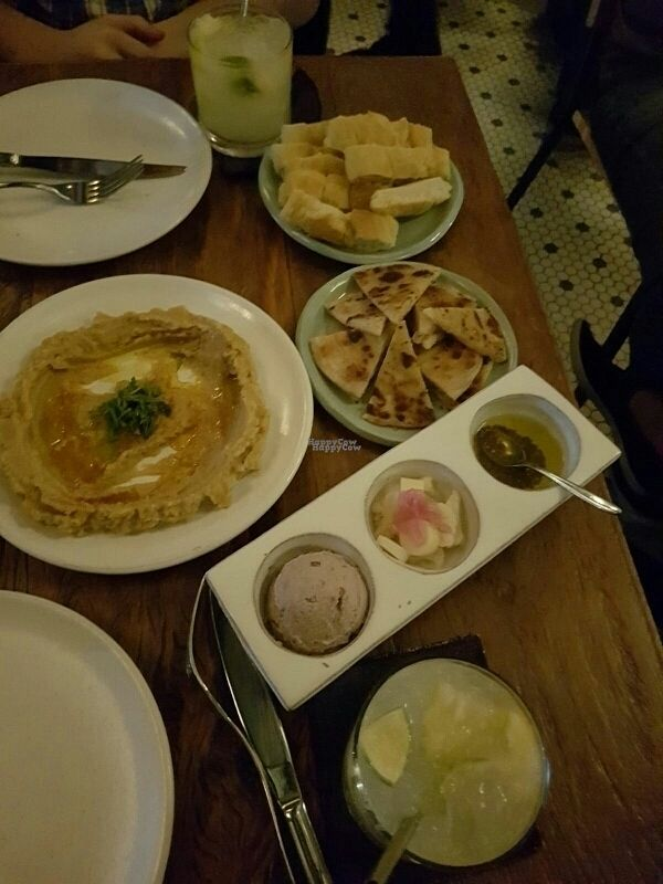 """Photo of Teva  by <a href=""""/members/profile/NatalieMayer"""">NatalieMayer</a> <br/>Hummus and mezze plate <br/> October 25, 2016  - <a href='/contact/abuse/image/78854/184357'>Report</a>"""