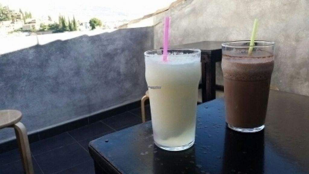 """Photo of Abaco Te  by <a href=""""/members/profile/Suu"""">Suu</a> <br/>chocolat & soya milk and melon smoothie  <br/> August 18, 2016  - <a href='/contact/abuse/image/78890/169865'>Report</a>"""