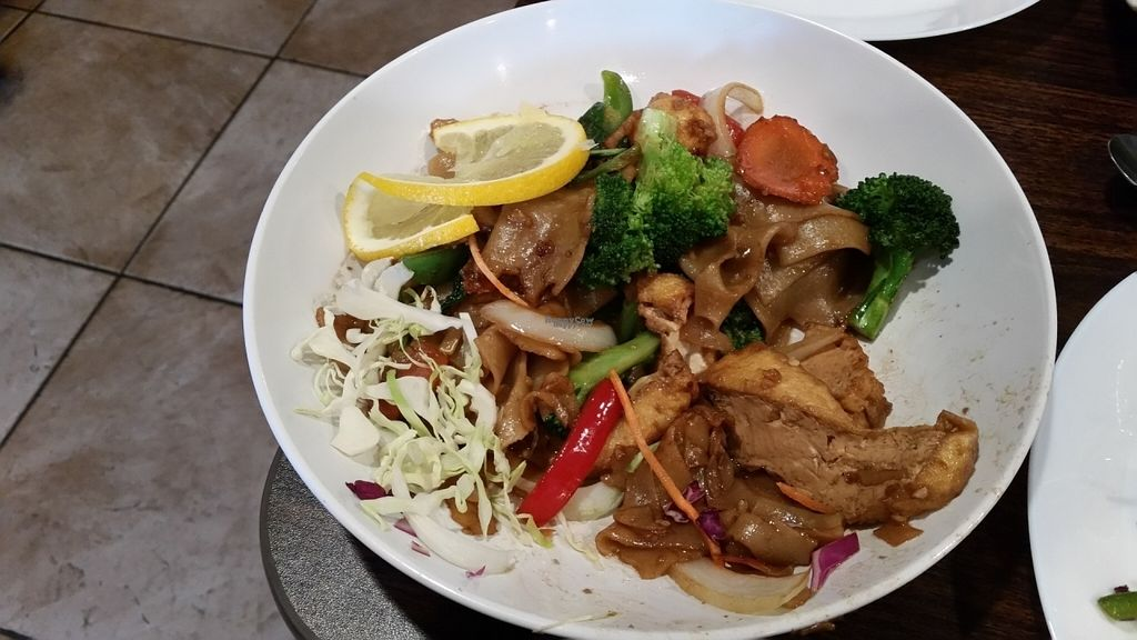 "Photo of Naga Thai Bistro  by <a href=""/members/profile/karl8704"">karl8704</a> <br/>Vegan pad Thai <br/> October 18, 2016  - <a href='/contact/abuse/image/78898/182736'>Report</a>"