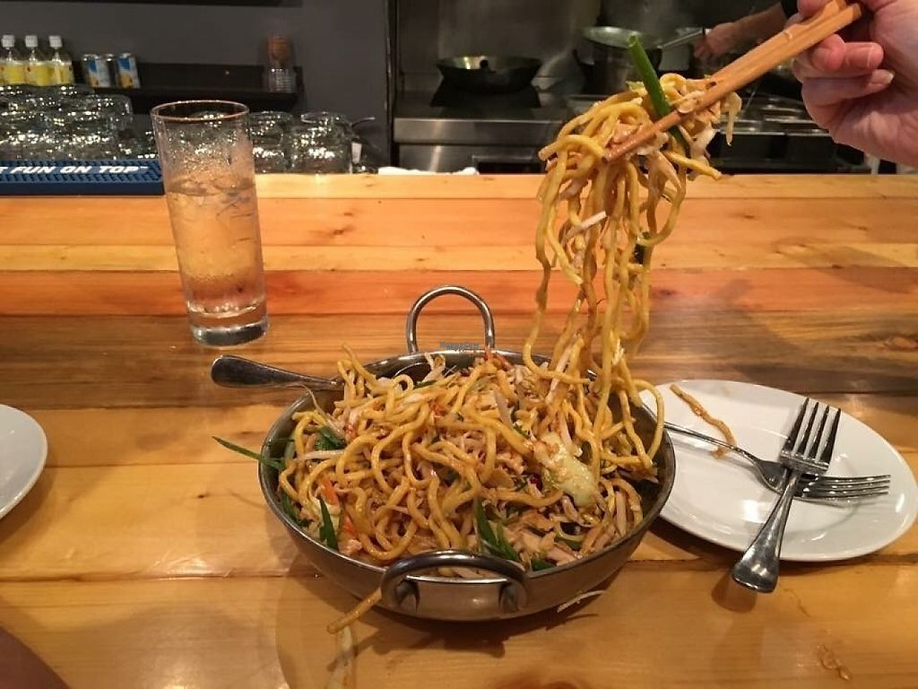 """Photo of CLOSED: Lee Lee's Hot Kitchen  by <a href=""""/members/profile/IsabelleChili7"""">IsabelleChili7</a> <br/>Sesame Noodle Salad <br/> November 17, 2016  - <a href='/contact/abuse/image/78900/191355'>Report</a>"""