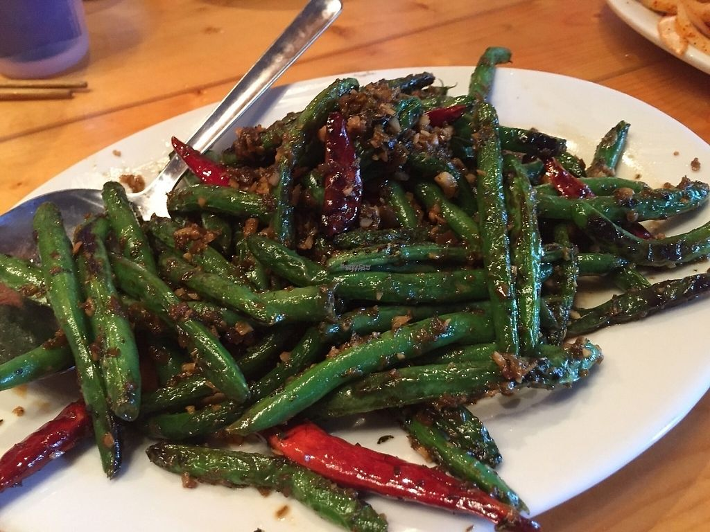 """Photo of CLOSED: Lee Lee's Hot Kitchen  by <a href=""""/members/profile/IsabelleChili7"""">IsabelleChili7</a> <br/>Sichuan Greenbeans  <br/> November 17, 2016  - <a href='/contact/abuse/image/78900/191356'>Report</a>"""