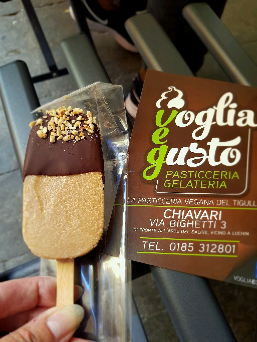 "Photo of Voglia e Gusto  by <a href=""/members/profile/Purplewitch"">Purplewitch</a> <br/>Great place, great icecream ?? <br/> September 17, 2017  - <a href='/contact/abuse/image/78914/305393'>Report</a>"