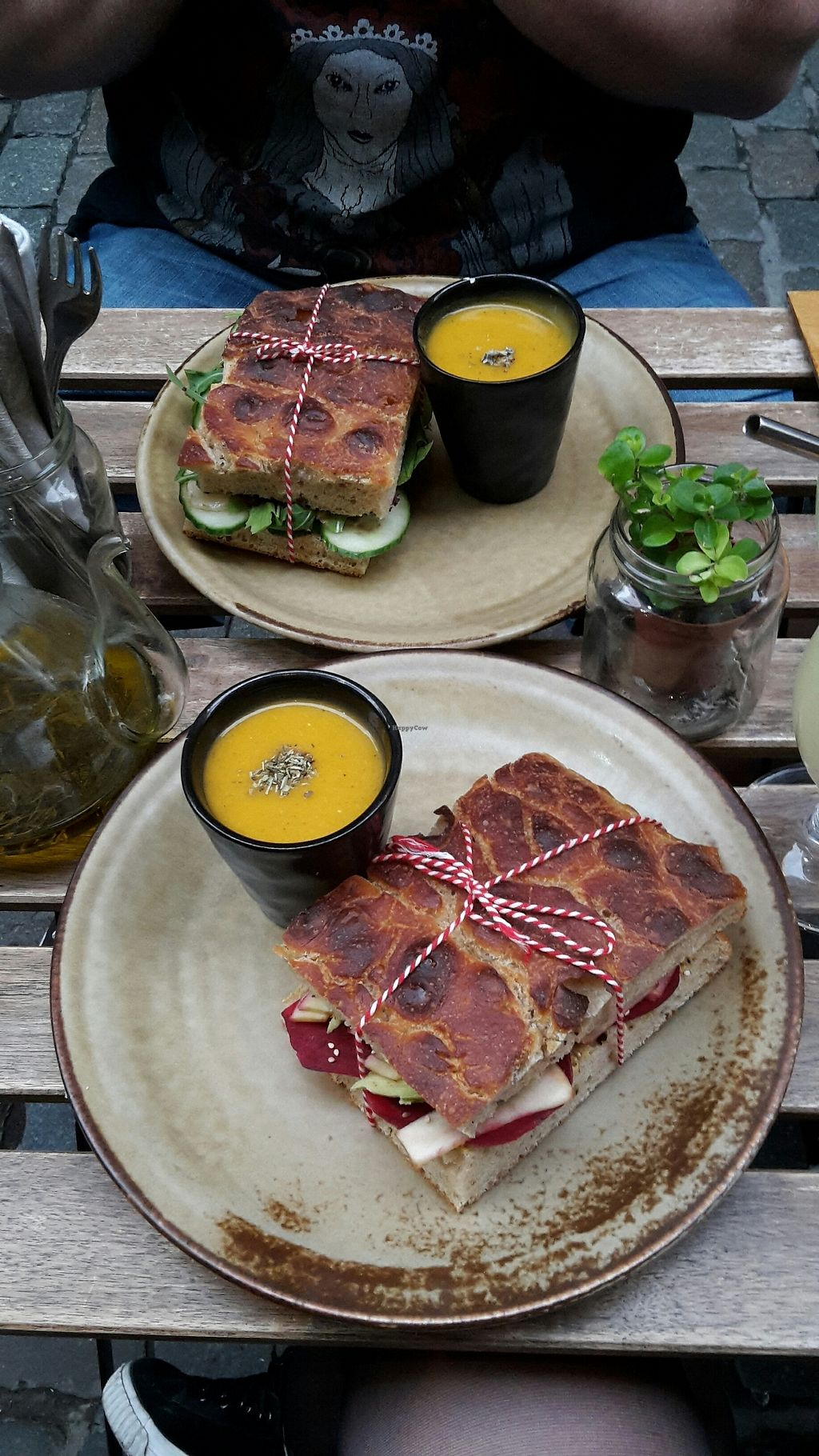 """Photo of The Sister  by <a href=""""/members/profile/Hindberg"""">Hindberg</a> <br/>Wide selection of vegan sandwiches. Comes with soup <br/> August 19, 2017  - <a href='/contact/abuse/image/78916/294454'>Report</a>"""