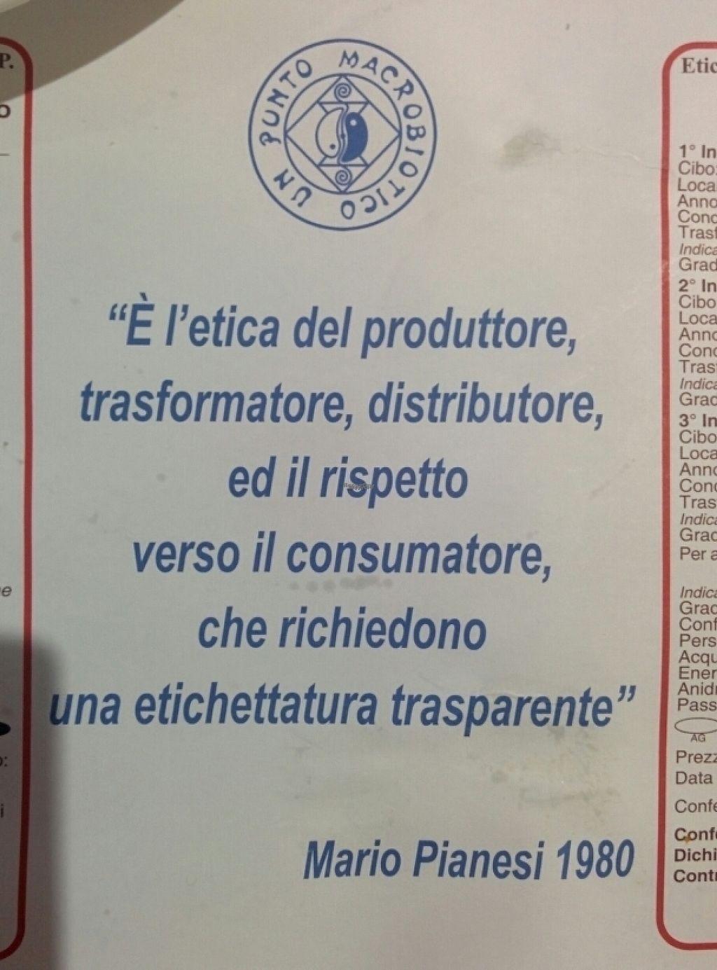 "Photo of Un Punto Macrobiotico - Via del Commercio  by <a href=""/members/profile/vineeta9"">vineeta9</a> <br/>ethics <br/> April 27, 2017  - <a href='/contact/abuse/image/78918/253249'>Report</a>"