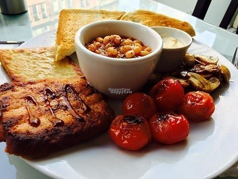 """Photo of Rose & Grant's Deli Cafe  by <a href=""""/members/profile/Meaks"""">Meaks</a> <br/>Vegan Breakfast <br/> September 1, 2016  - <a href='/contact/abuse/image/78929/172801'>Report</a>"""