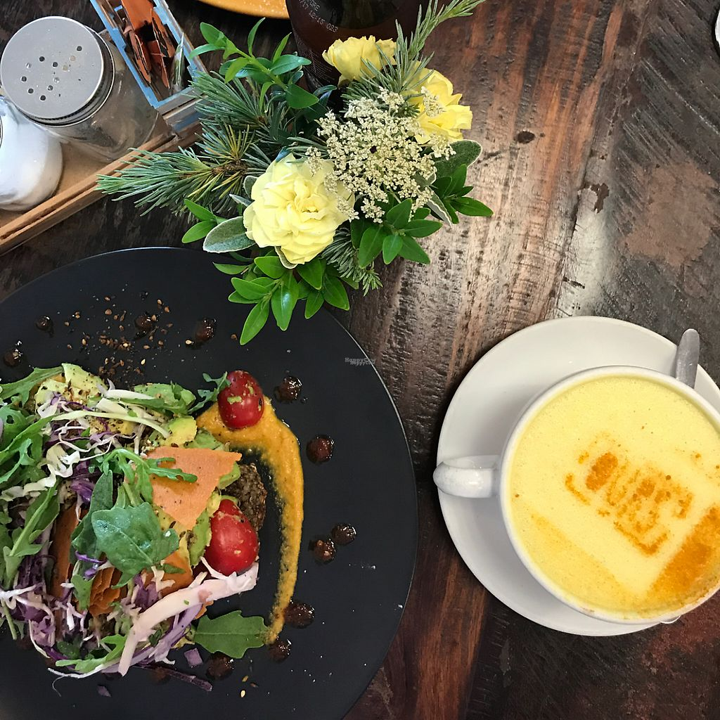 "Photo of OURS Cafe  by <a href=""/members/profile/Binks"">Binks</a> <br/>lovely turmeric latte w avo and a hearty bread or loaf. was a while ago so cant really remember. was delicious tho <br/> January 30, 2017  - <a href='/contact/abuse/image/78949/219498'>Report</a>"