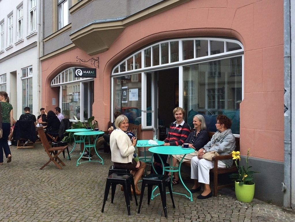 "Photo of Marae - Kaffee & Zauberei  by <a href=""/members/profile/Kaffeezauberei"">Kaffeezauberei</a> <br/>Our Outdoor area <br/> August 20, 2016  - <a href='/contact/abuse/image/78952/170325'>Report</a>"