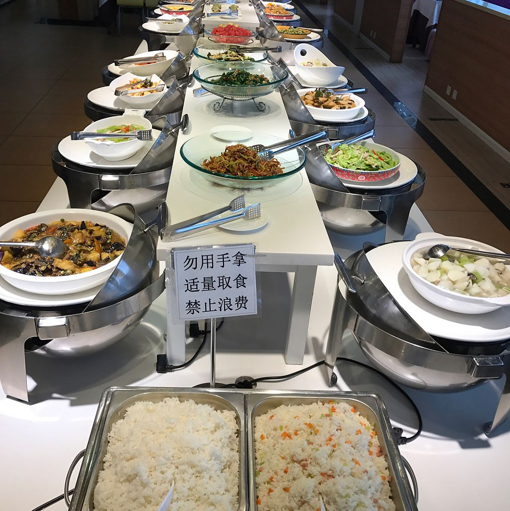 "Photo of Yusuge Garden  by <a href=""/members/profile/howardxp1"">howardxp1</a> <br/>17 main dishes, 4 soups, 3 drinks & various fruits and even small brownies!! <br/> May 17, 2017  - <a href='/contact/abuse/image/78957/259481'>Report</a>"