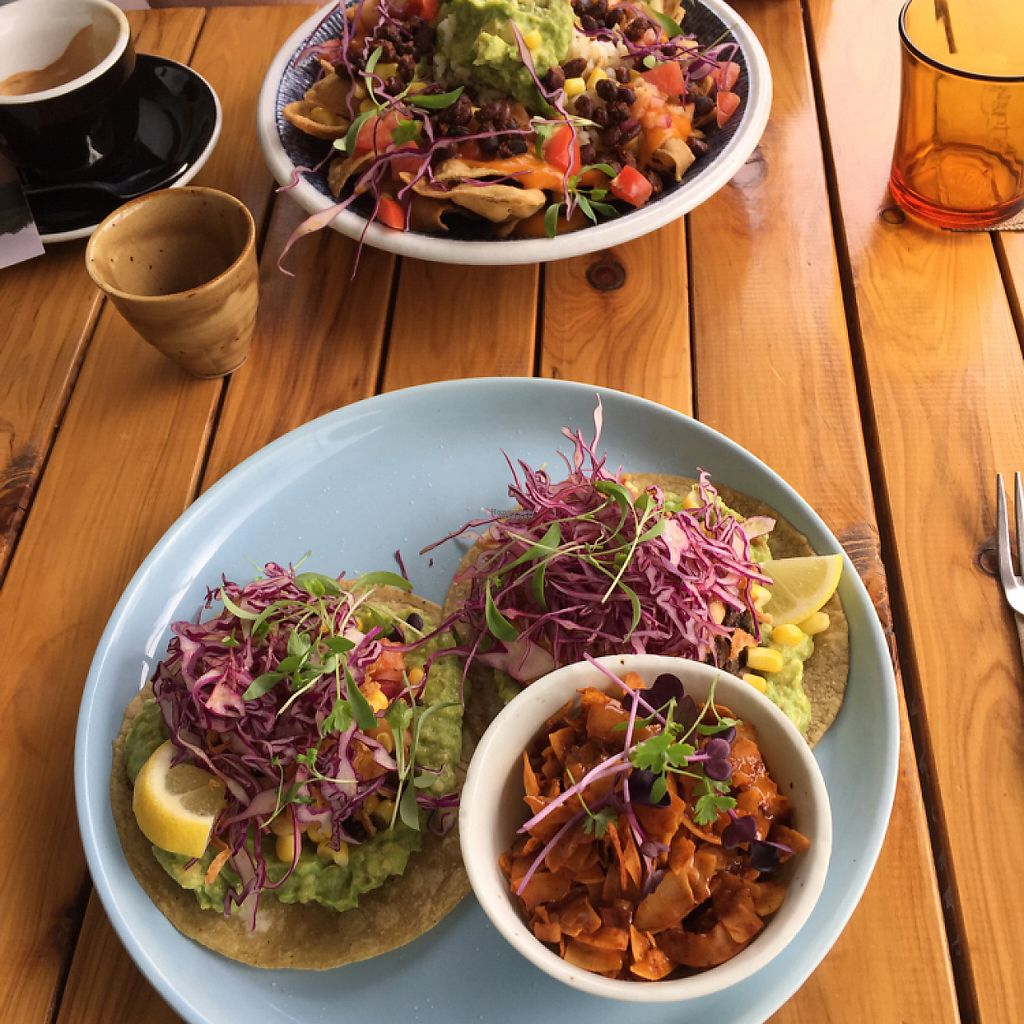 "Photo of Particle Cafe  by <a href=""/members/profile/Wuji_Luiji"">Wuji_Luiji</a> <br/>nachos and tortillas with coconut bacon <br/> February 5, 2017  - <a href='/contact/abuse/image/78983/222584'>Report</a>"