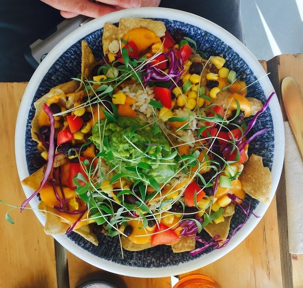 "Photo of Particle Cafe  by <a href=""/members/profile/karlaess"">karlaess</a> <br/>Nacho bowl <br/> April 8, 2017  - <a href='/contact/abuse/image/78983/245727'>Report</a>"