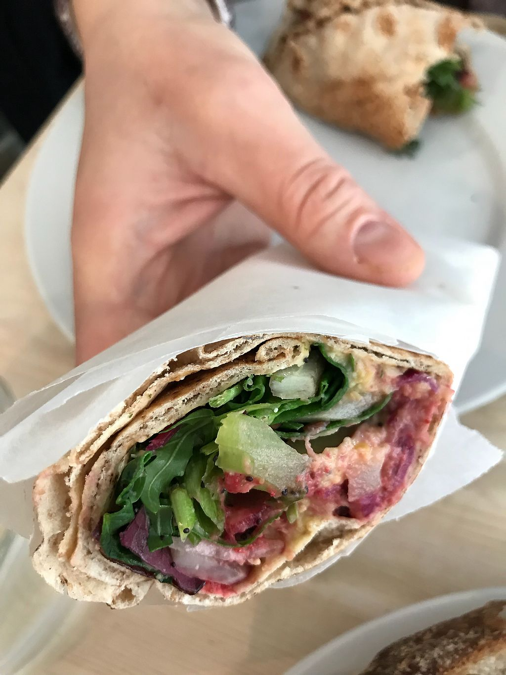 "Photo of Stem + Glory - King St  by <a href=""/members/profile/Gioia_vegana"">Gioia_vegana</a> <br/>Tasty wrap <br/> April 1, 2018  - <a href='/contact/abuse/image/78986/379341'>Report</a>"