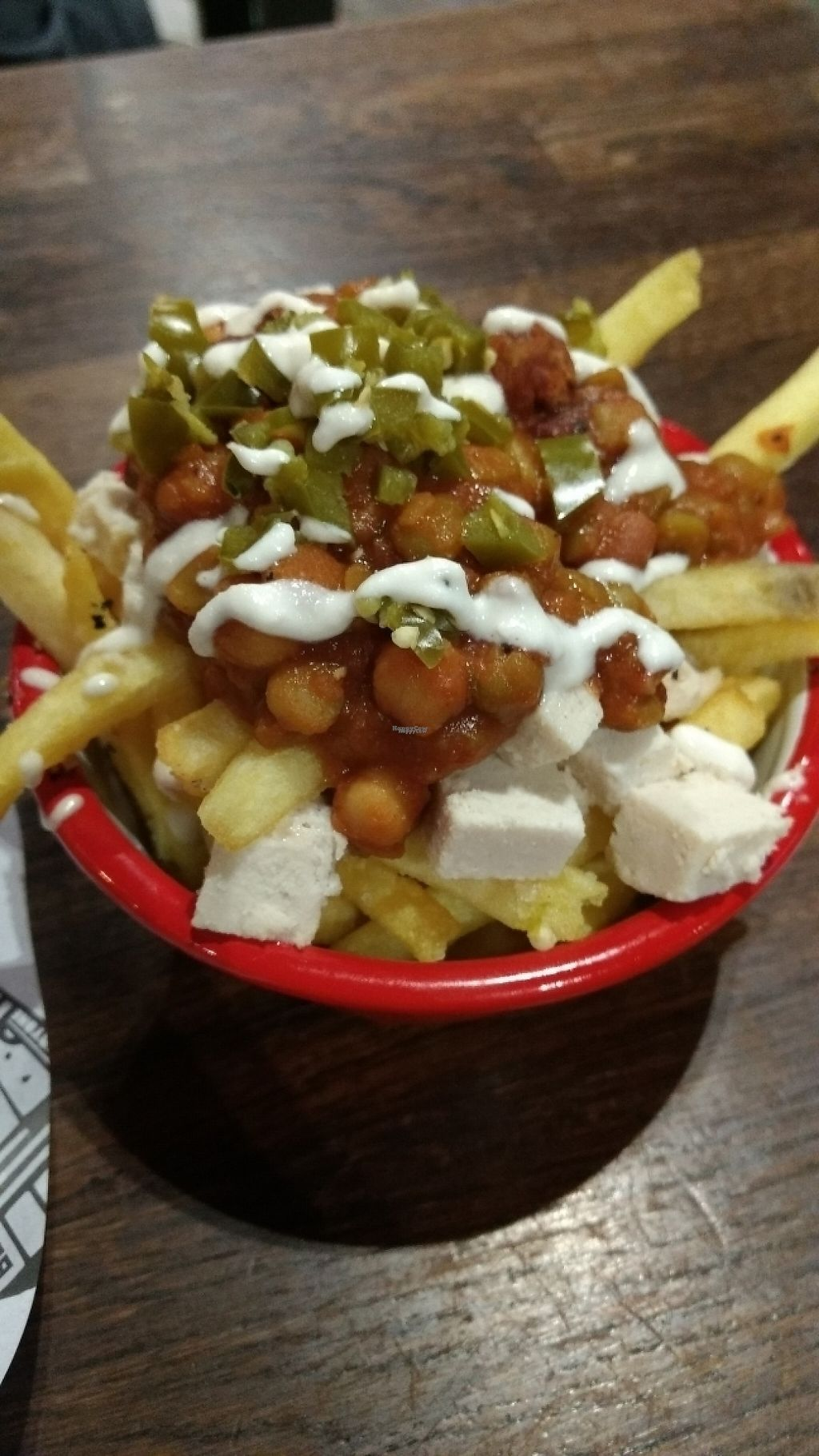 """Photo of Bloc Bar Glasgow  by <a href=""""/members/profile/craigmc"""">craigmc</a> <br/>chip thing with beany topping <br/> March 27, 2017  - <a href='/contact/abuse/image/78988/241779'>Report</a>"""