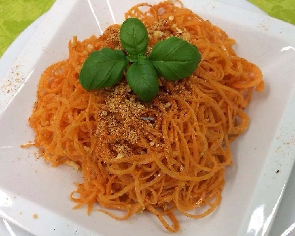 "Photo of Slunce  by <a href=""/members/profile/MartinKysela"">MartinKysela</a> <br/>Great aglio olio peperoncino in raw version from sweet potatoes <br/> March 13, 2017  - <a href='/contact/abuse/image/78989/236226'>Report</a>"