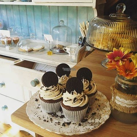 "Photo of Hidden Lane Tea Room  by <a href=""/members/profile/Meaks"">Meaks</a> <br/>Vegan Oreo Cupcakes <br/> September 1, 2016  - <a href='/contact/abuse/image/78990/172795'>Report</a>"