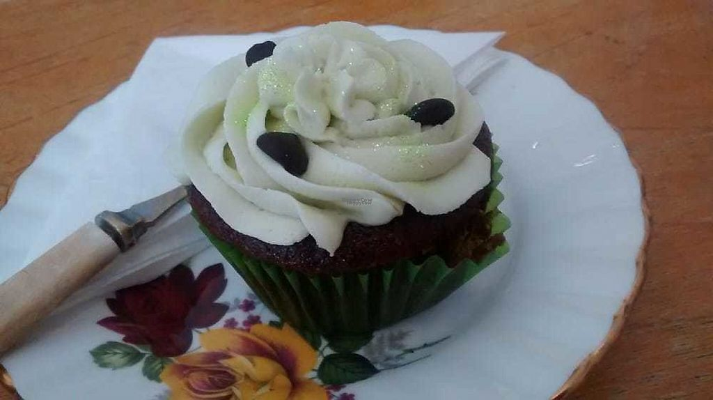 "Photo of Hidden Lane Tea Room  by <a href=""/members/profile/TrixieFirecracker"">TrixieFirecracker</a> <br/>Chocolate and mint cupcake <br/> January 8, 2017  - <a href='/contact/abuse/image/78990/209728'>Report</a>"