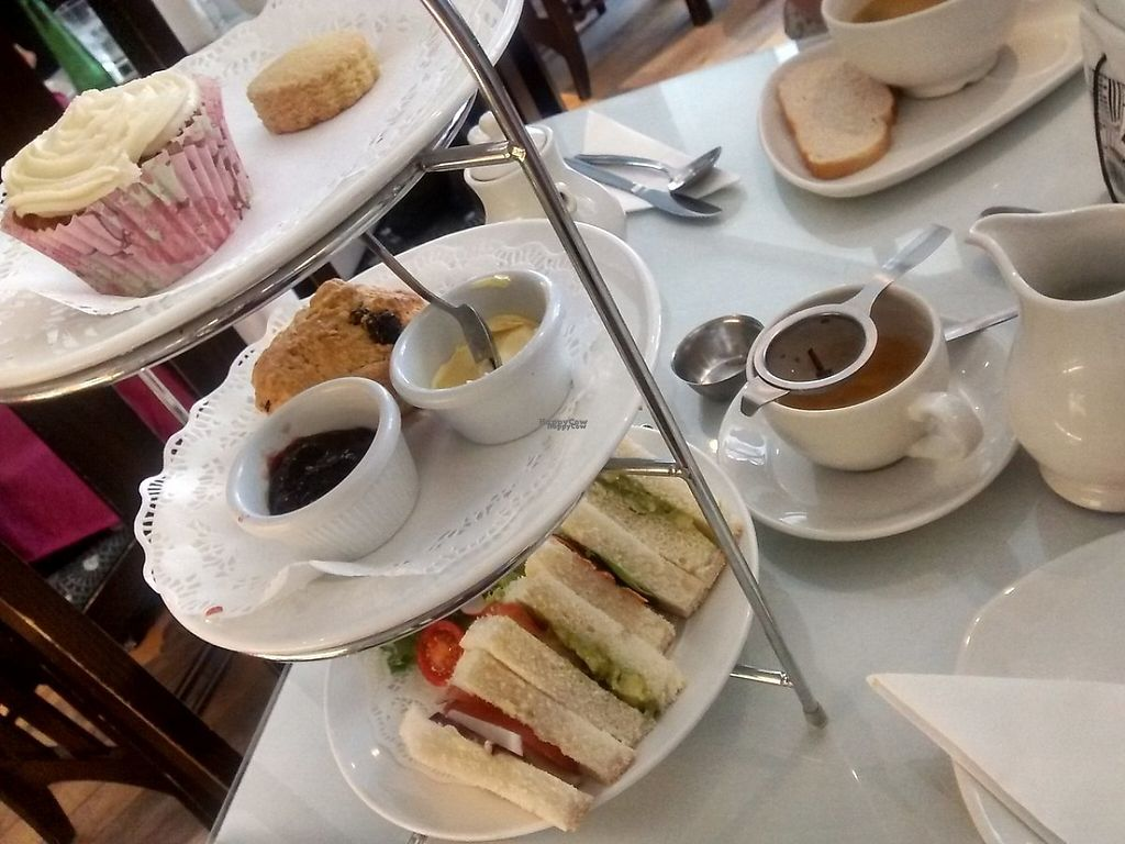 "Photo of Hidden Lane Tea Room  by <a href=""/members/profile/TrixieFirecracker"">TrixieFirecracker</a> <br/>Vegan afternoon tea <br/> January 8, 2017  - <a href='/contact/abuse/image/78990/209732'>Report</a>"