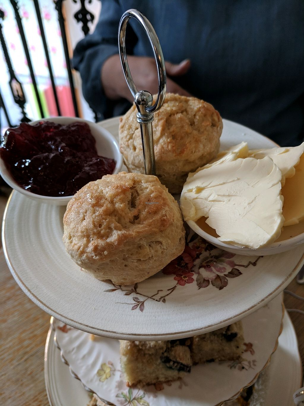 "Photo of Hidden Lane Tea Room  by <a href=""/members/profile/Jalzuri"">Jalzuri</a> <br/>scones with butter and jam <br/> March 12, 2018  - <a href='/contact/abuse/image/78990/369844'>Report</a>"