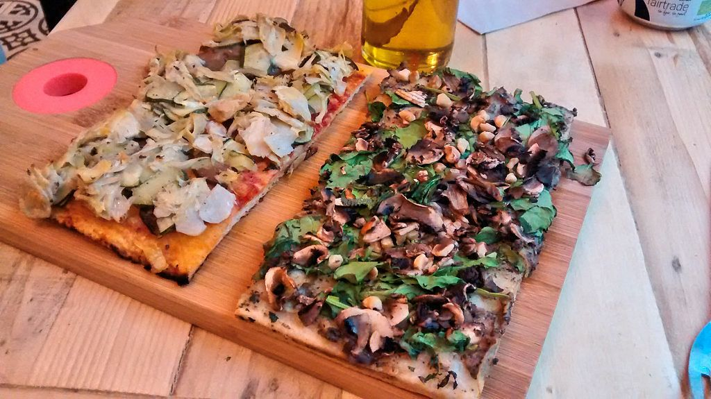 """Photo of Hank Vegan Pizza  by <a href=""""/members/profile/JonJon"""">JonJon</a> <br/>Truffle and antipasti pizzas <br/> September 24, 2016  - <a href='/contact/abuse/image/79001/177679'>Report</a>"""