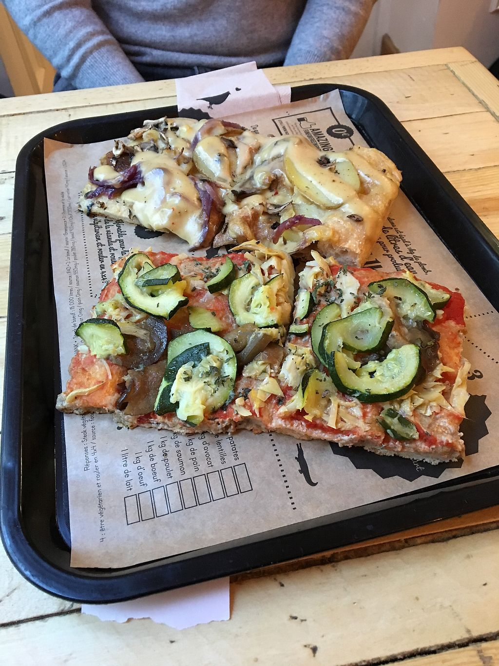 """Photo of Hank Vegan Pizza  by <a href=""""/members/profile/RebeccaFrances"""">RebeccaFrances</a> <br/>Great pizza! <br/> February 18, 2018  - <a href='/contact/abuse/image/79001/360736'>Report</a>"""