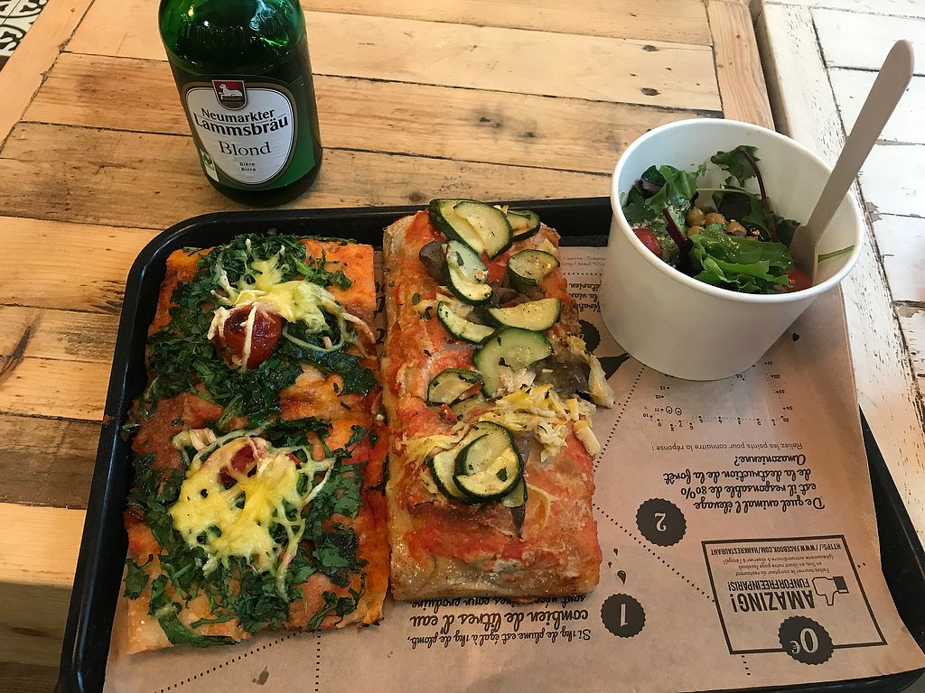"""Photo of Hank Vegan Pizza  by <a href=""""/members/profile/smd2688"""">smd2688</a> <br/>? <br/> April 18, 2018  - <a href='/contact/abuse/image/79001/387848'>Report</a>"""
