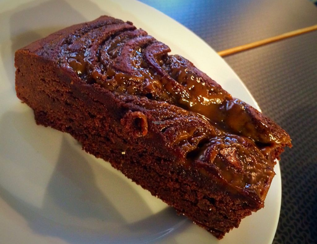 """Photo of Quartisan   by <a href=""""/members/profile/CiaraSlevin"""">CiaraSlevin</a> <br/>Vegan salted caramel brownie <br/> August 22, 2016  - <a href='/contact/abuse/image/79006/239566'>Report</a>"""