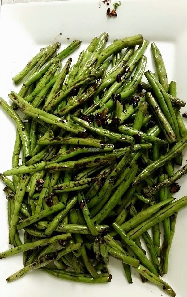 "Photo of Kue's Cafe  by <a href=""/members/profile/community"">community</a> <br/>sautéed string beans  <br/> September 9, 2016  - <a href='/contact/abuse/image/79007/174454'>Report</a>"