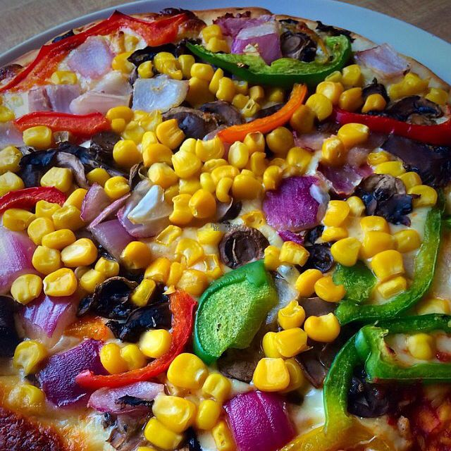"""Photo of Sainsbury's   by <a href=""""/members/profile/CiaraSlevin"""">CiaraSlevin</a> <br/>In-store made Vegetarian pizza <br/> September 18, 2016  - <a href='/contact/abuse/image/79032/176581'>Report</a>"""