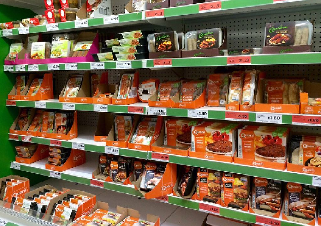"""Photo of Sainsbury's   by <a href=""""/members/profile/CiaraSlevin"""">CiaraSlevin</a> <br/>Quorn range <br/> August 22, 2016  - <a href='/contact/abuse/image/79032/240487'>Report</a>"""