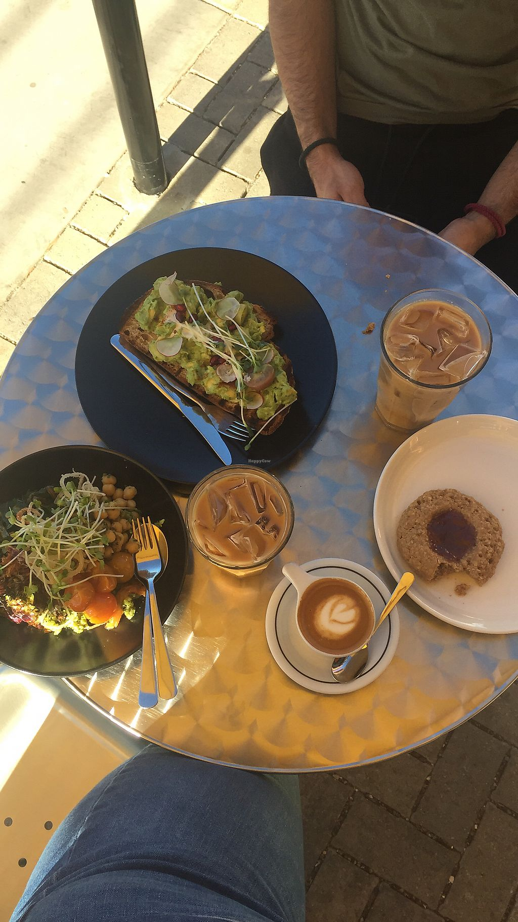 """Photo of Handlebar Coffee Roaster  by <a href=""""/members/profile/AlexandraTrout"""">AlexandraTrout</a> <br/>Fully vegan spread! We got every vegan thing they had and it was all exceptional!  <br/> January 31, 2018  - <a href='/contact/abuse/image/79081/353242'>Report</a>"""