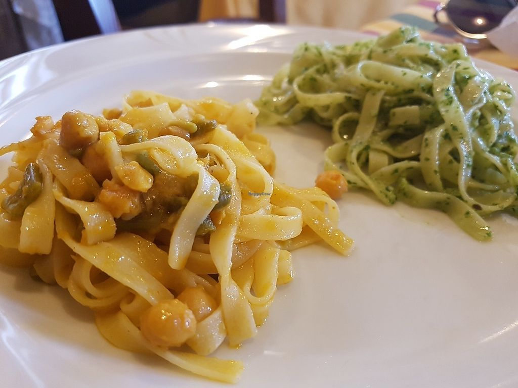 """Photo of CLOSED: Osteria Tre Ponti  by <a href=""""/members/profile/Rosa%20veg"""">Rosa veg</a> <br/>Fettuccine  <br/> June 14, 2017  - <a href='/contact/abuse/image/79085/269077'>Report</a>"""