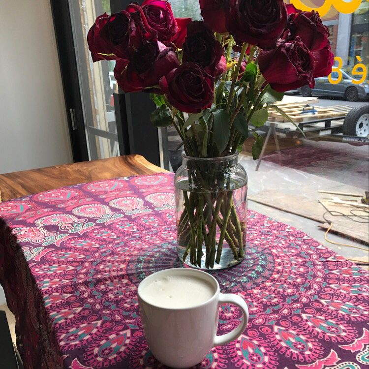 "Photo of Belem Cafe & Yoga  by <a href=""/members/profile/ByronSobe"">ByronSobe</a> <br/>Delicious Rooibos Almond Latè with a window seat to St Laurent <br/> September 30, 2016  - <a href='/contact/abuse/image/79123/178839'>Report</a>"