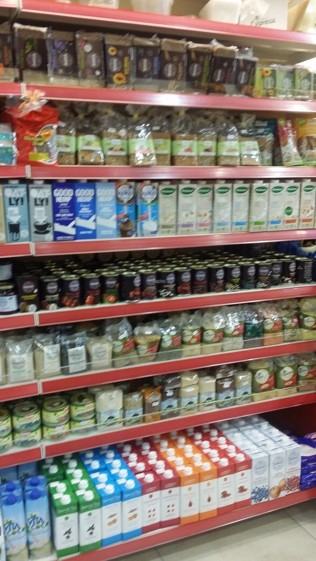 """Photo of CLOSED: Fruit Garden  by <a href=""""/members/profile/roguesby"""">roguesby</a> <br/>So many dairy-free milks! Tons of beans and legumes! <br/> August 26, 2016  - <a href='/contact/abuse/image/79138/171520'>Report</a>"""