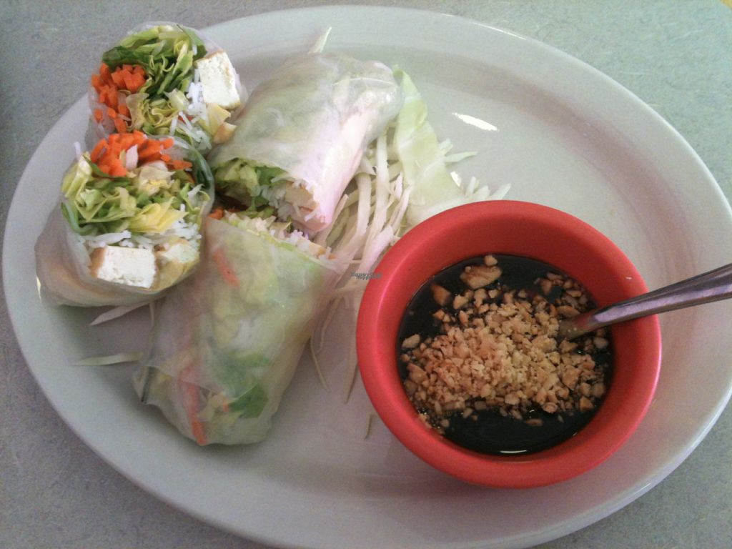 """Photo of Thai Gourmet  by <a href=""""/members/profile/ecoRDN"""">ecoRDN</a> <br/>Tofu Fresh Roll From Thai Gourmet, Pittsburgh, PA -  Photo By ecoRDN ecoRDN.com <br/> October 31, 2016  - <a href='/contact/abuse/image/79149/185634'>Report</a>"""
