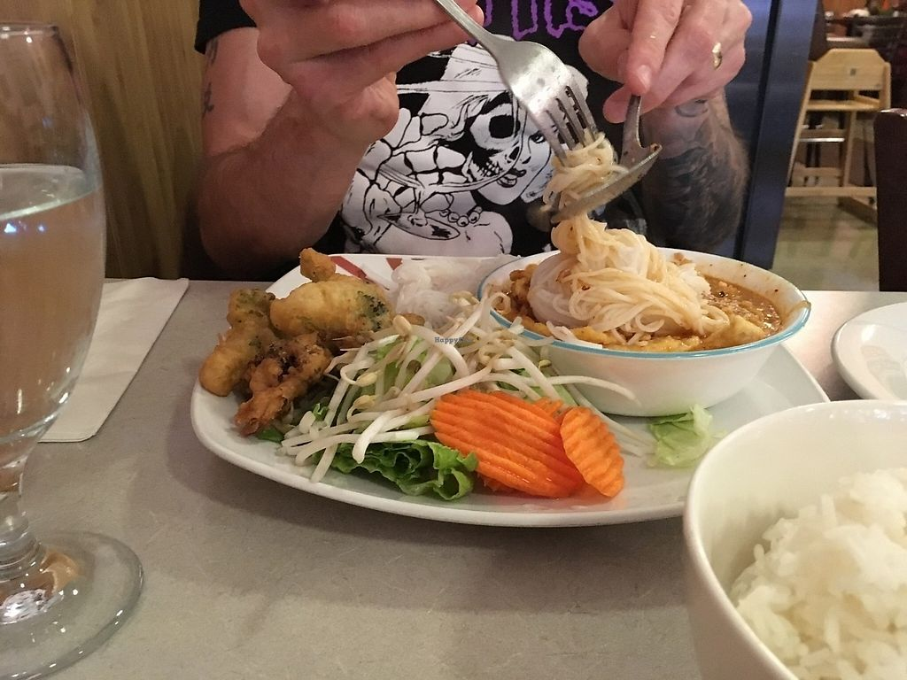 """Photo of Thai Gourmet  by <a href=""""/members/profile/ecoRDN"""">ecoRDN</a> <br/>Thai Gourmet, Pittsburgh PA  Nam Prik Photo By ecoRDN   ecoRDN.com  <br/> May 6, 2017  - <a href='/contact/abuse/image/79149/256209'>Report</a>"""